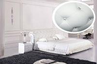 Кровать Татами 1031 (со стразами) с подъемным механизмом | Китай