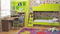 Кровать двухъярусная Орбита-5 для двоих детей